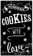 Holzstempel vintage cookies