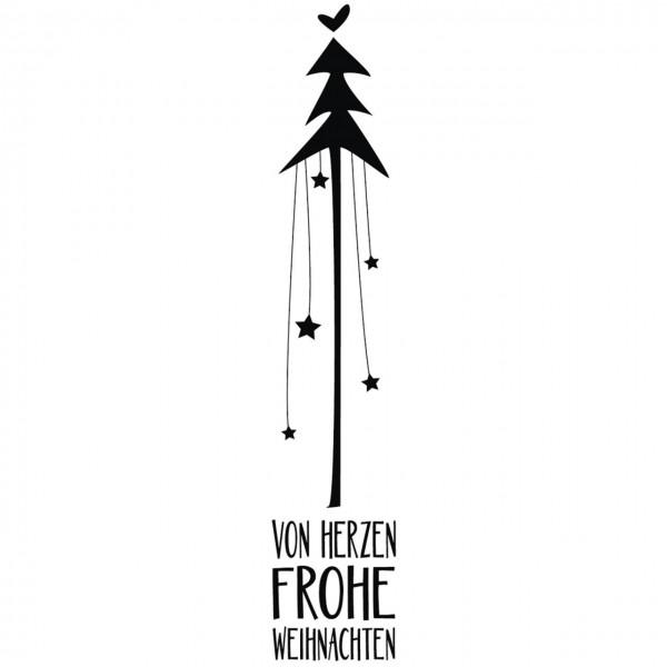 Rayher Holzstempel von Herzen Frohe Weihnachten