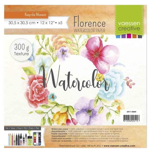 Florence Watercolor Aquarellpapier 12 inch