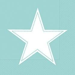 Paper+Design Lunchservietten simply Star mint
