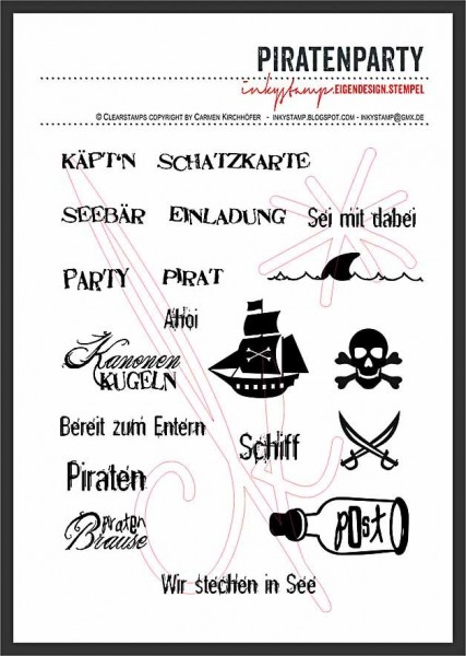 Inkystamp Piratenparty