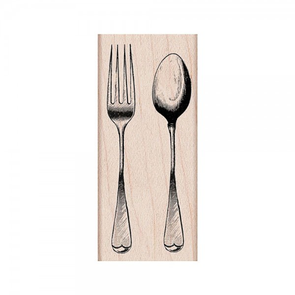 Hero Arts Holzstempel Fork & Spoon