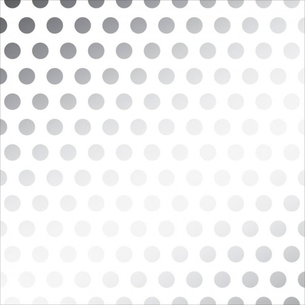 American Crafts Vellum silver dots