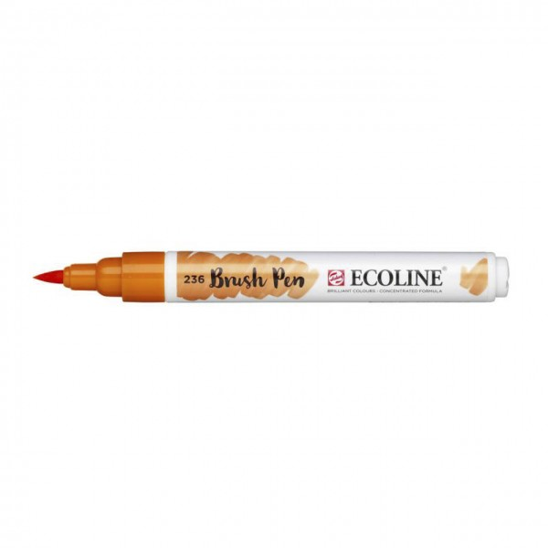Ecoline Brush Pen Hellorange