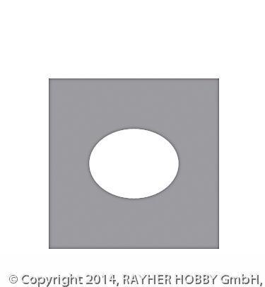 Motivstanzer: Oval