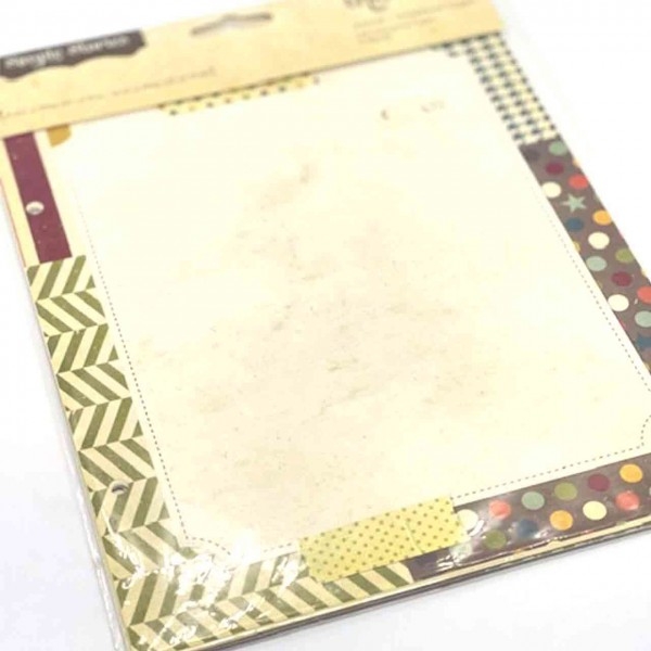 Simple Stories Journal Scrapbook Pages 6x8 Awesome Collection