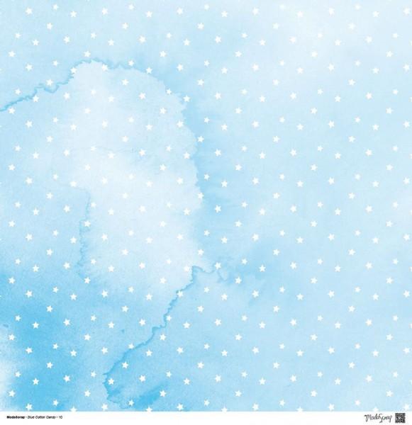 Moda Scrap - Blue Cotton Candy 10