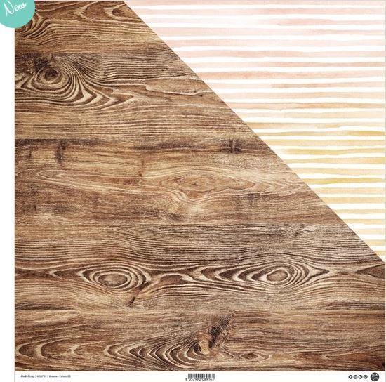 Moda Scrap - Wooden Colors 05