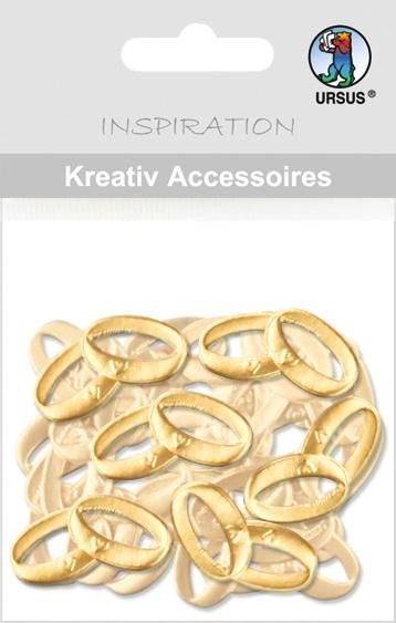 Kreativ Accessoires Ringe gold