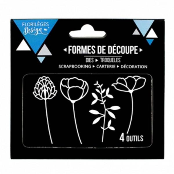 Florileges Design Dies Èclosion de fleurs