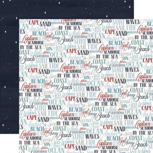 Carta Bella By the Sea - Coastal Words