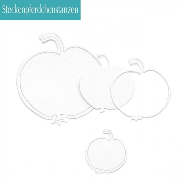 Steckenpferdchenstanze Apfel Set