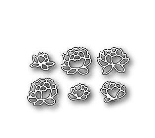 Memory Box Stanzdie pennington rose blossom