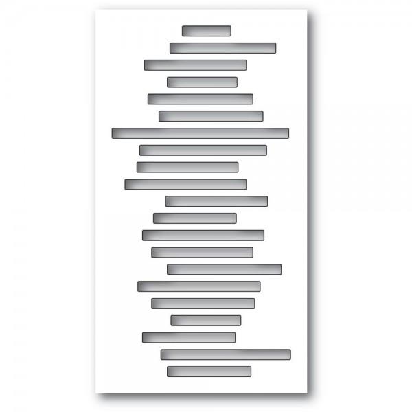 Memorybox Stanzdie - Jumbled Line Collage