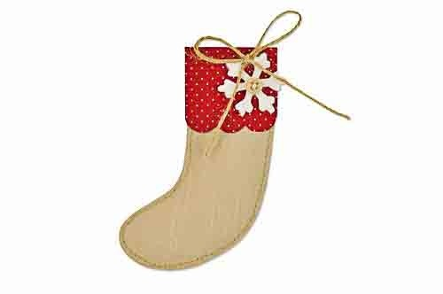 Sizzix Bigz Die Christmas Stocking