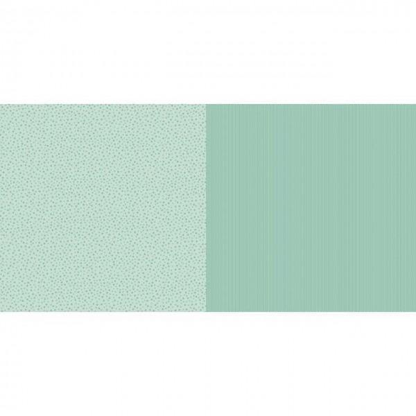 Dini Design Papier mini Sterne/Streifen Mintgrün