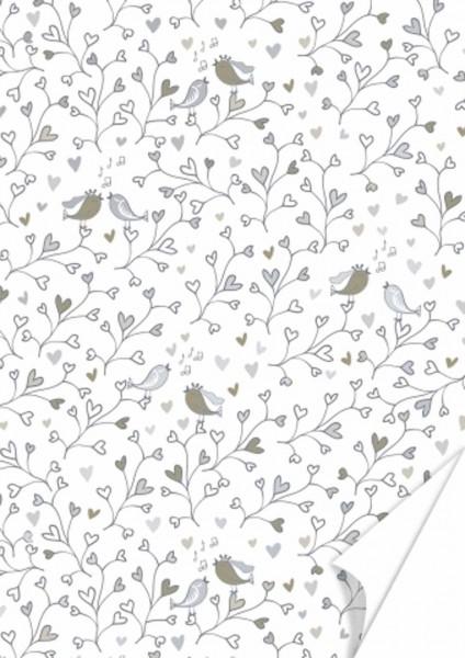 Heyda Karton Birdie silber