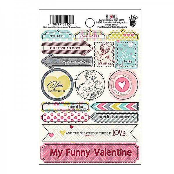 Fancy Pants Be Loved Label Stickers
