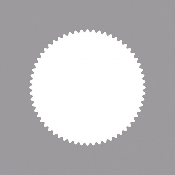 Rayher Motivstanzer Kreis Zackenrand 1,5 inch