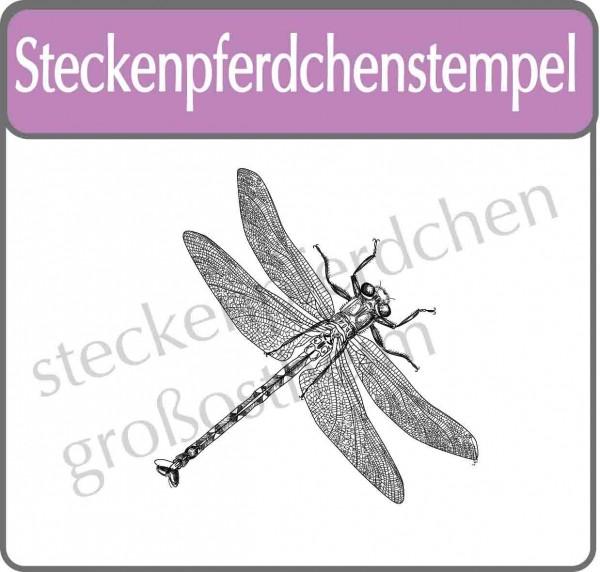 Steckenpferdchenstempel Libelle