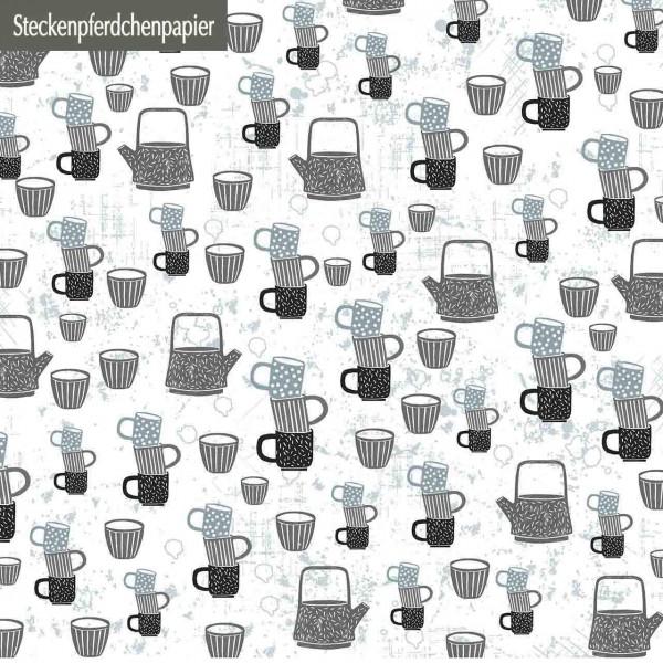Steckenpferdchenpapier Küche 3