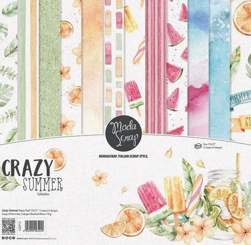 Moda Scrap Paper Pack - Crazy Summer