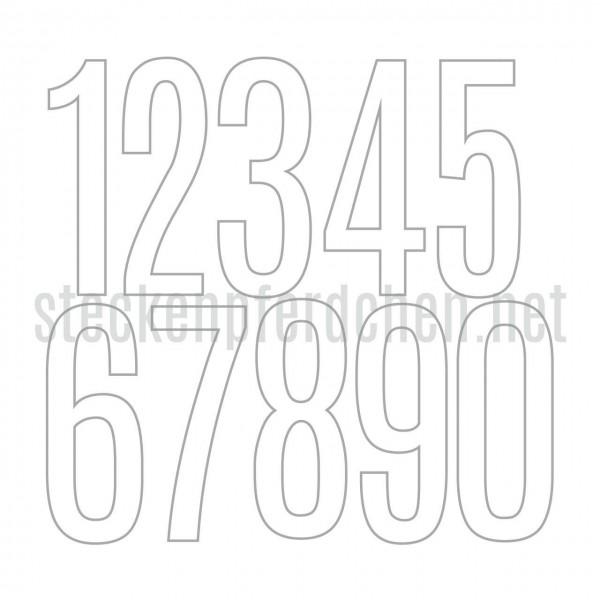 Steckenpferdchenstanze Zahlen