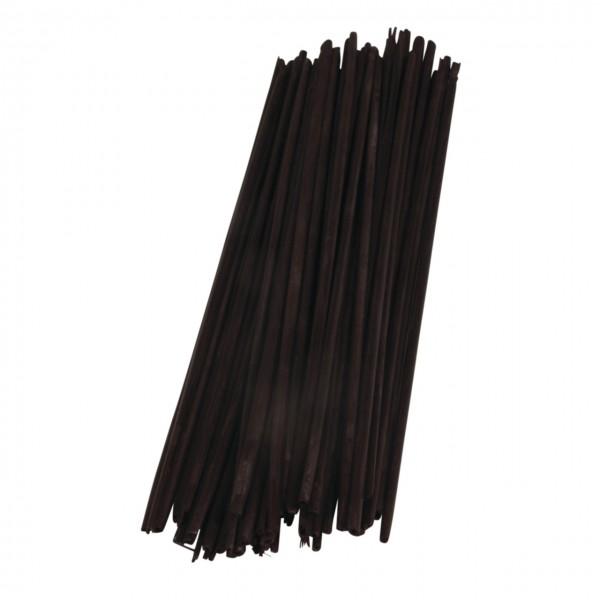 Rayher Strohhalme schwarz