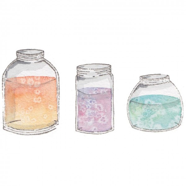 Stampingbella mini assorted Jars