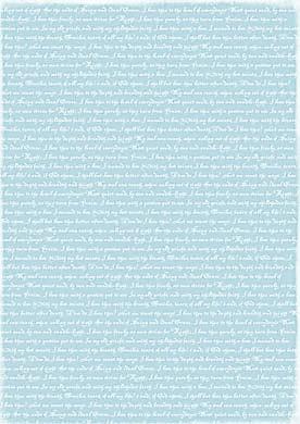 Reprint Hobby Basic Collection Lightblue Lyrics