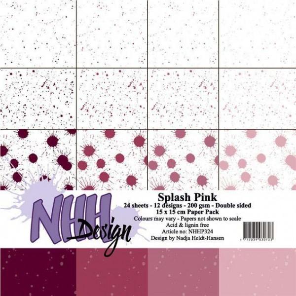 Papier Pack 6 inch - Splash Pink