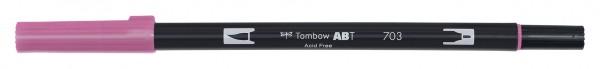 Tombow Dual Brush Pen - 703 - Rosarot