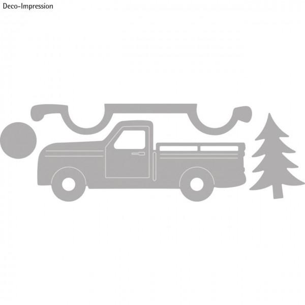 Rayher Stanzschablonen Set Truck
