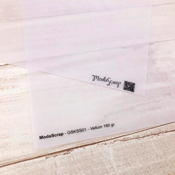Moda Scrap Transparentpapier weiß 12 inch