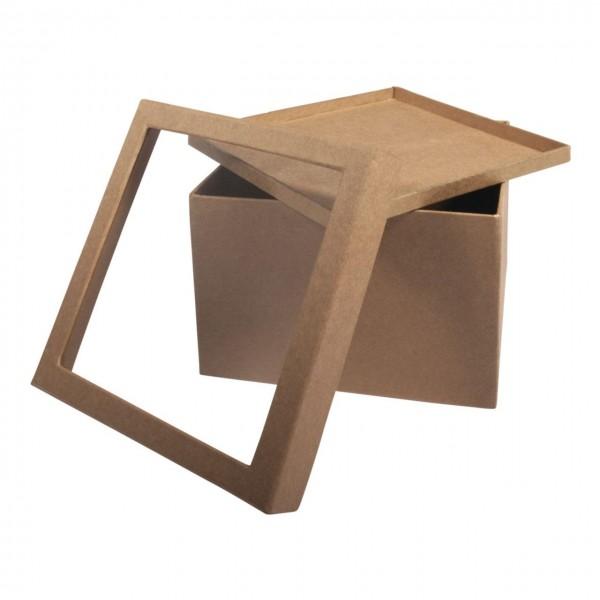 Rayher Pappmache Box mit Schütteldeckel groß