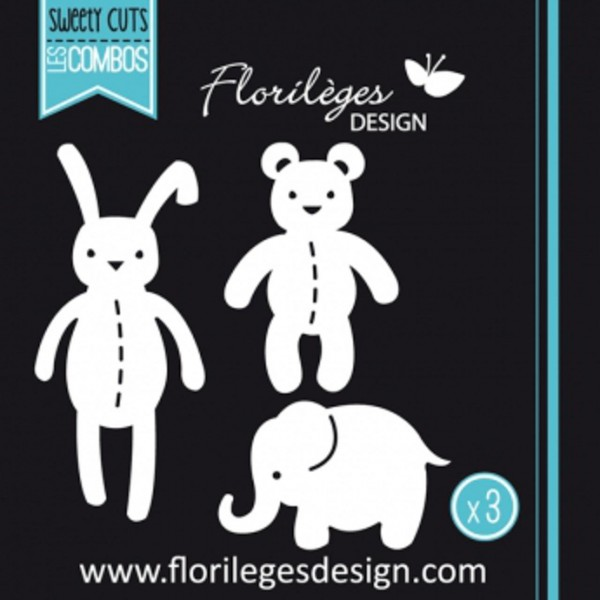 Florileges Design Dies les doudous
