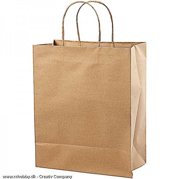 Papiertaschen mit Kordelhenkel