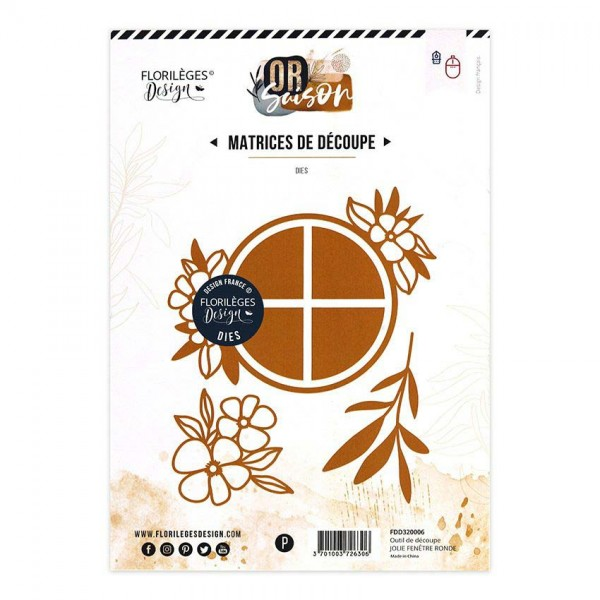 Florileges Stanzdie - Jolie Fene`tre ronde