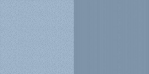 Dini Design Papier mini Sterne/Streifen Schwedenblau