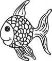 Butterer Holzstempel Fische