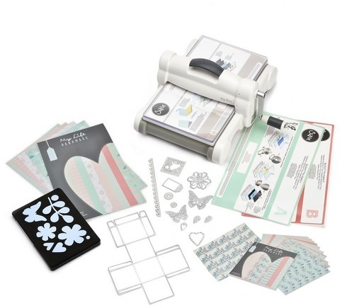 Neu Sizzix  Big Shot Plus Starterkit