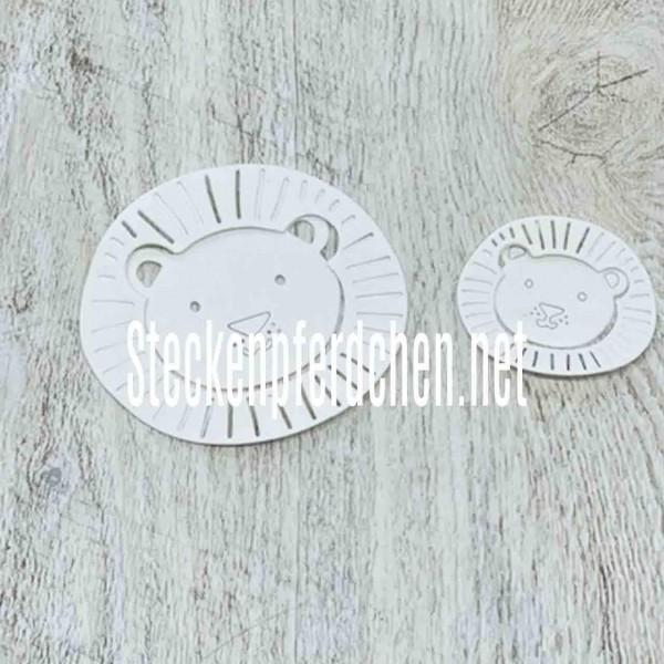 Steckenpferdchenstanze Löwenkopf Set