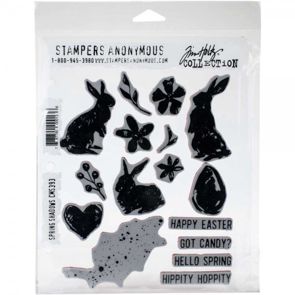 Tim Holtz Stampers Anonymous - Spring Shadows
