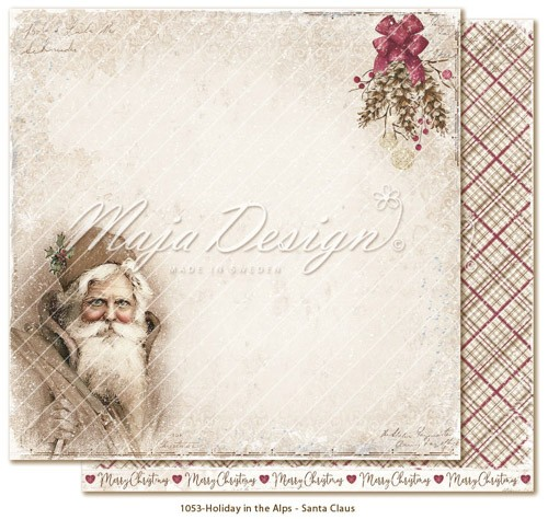 Maja Design Holiday in the Alps - Santa Claus