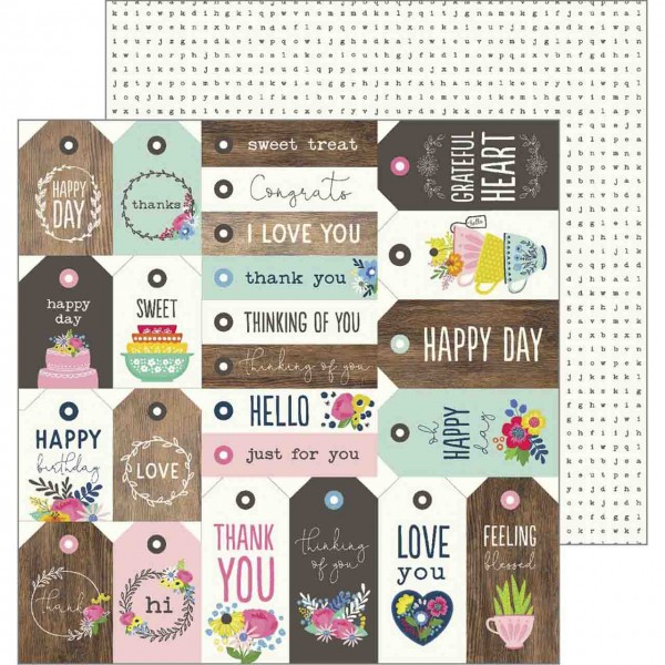American Crafts my bright life tag your it