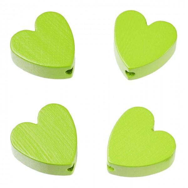 Schnulli Herz apfelgrün