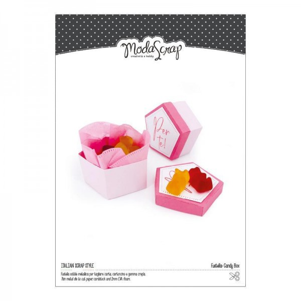 Moda Scrap Fustella Stanzdie - Candy Box