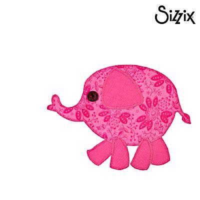 Sizzix Bigz Stanzdie L Elephant