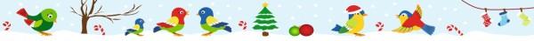 Ursus Masking Tape Weihnachten Vögel