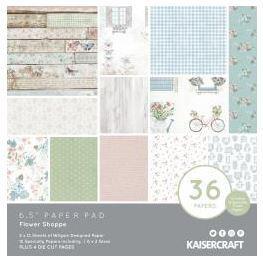 Kaiser Craft Paper Pad - Flower Shoppe